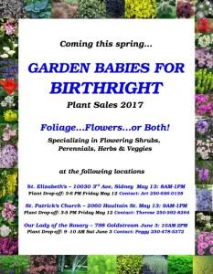 GENERAL Plant sale