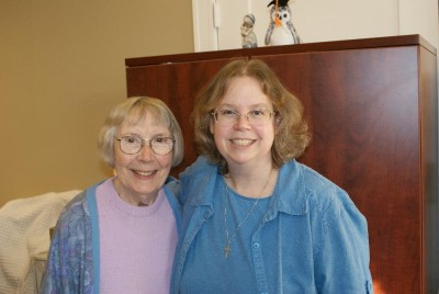 Bridget O'Brien: 1927 – 2014, with Peggy Chapeskie